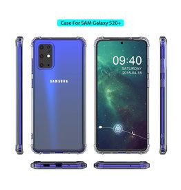 Schokbestendig transparant TPU hoesje SamsungGalaxy S20 Plus