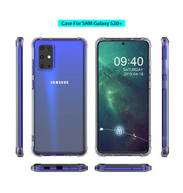 Shockproof transparent TPU case SamsungGalaxy S20 Plus