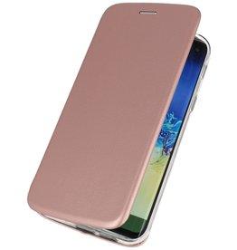 Schlanke Folio Hülle für Huawei P40 Pink