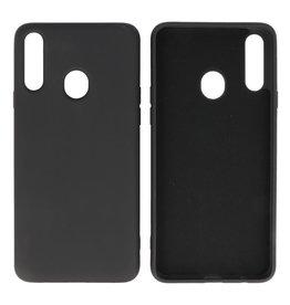 Fashion Color TPU Case Samsung Galaxy A20s Black