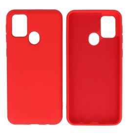 Mode Farbe TPU Fall Samsung Galaxy M31 Rot