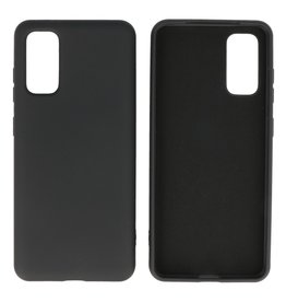 Fashion Color TPU Case Samsung Galaxy S20 Black