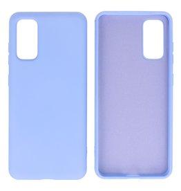 Fashion Color TPU Case Samsung Galaxy S20 Purple