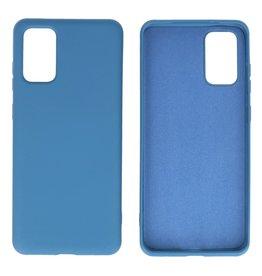 2.0mm Dikke Fashion Color TPU Hoesje Samsung Galaxy S20 Plus Navy