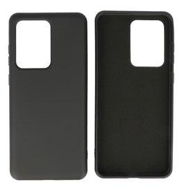 Fashion Color TPU Case Samsung Galaxy S20 Ultra Black