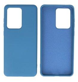Fashion Color TPU Case Samsung Galaxy S20 Ultra Navy