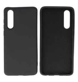Fashion Color TPU Case Huawei P30 Black
