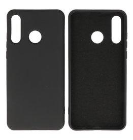 Mode Farbe TPU Fall Huawei P30 Lite Schwarz