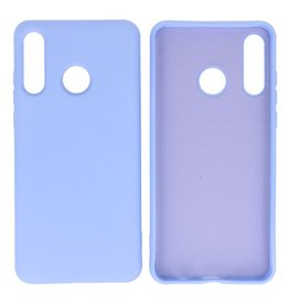 2.0mm Dikke Fashion Color TPU Hoesje Huawei P30 Lite Paars