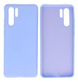 Mode Farbe TPU Fall Huawei P30 Pro Lila