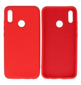 Mode Farbe TPU Fall Huawei P Smart 2019 Rot