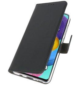 Wallet Cases Hoesje voor Samsung Galaxy A31 Zwart