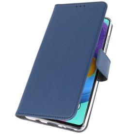 Wallet Cases Hoesje voor Samsung Galaxy A31 Navy