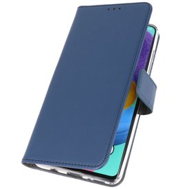 Wallet Cases Cover for Samsung Galaxy A90 Navy