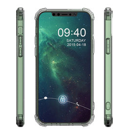 Schokbestendig TPU hoesje voor iPhone 12 mini Transparant