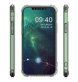 Stoßfeste TPU-Hülle für iPhone 12 / Pro Transparent
