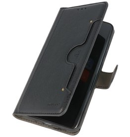 Luxe Portemonnee Hoesje voor iPhone 12 mini Zwart