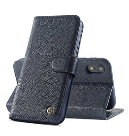 Genuine Leather Case iPhone X / Xs Navy