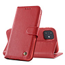 Genuine Leather Case iPhone 12 mini Red