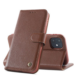 Echte Ledertasche iPhone 12 Mini Brown