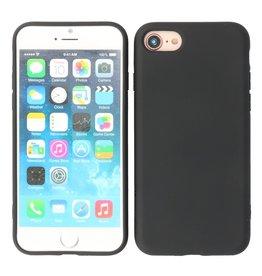 2.0mm Thick Fashion Color TPU Case iPhone SE 2020/8/7 Black