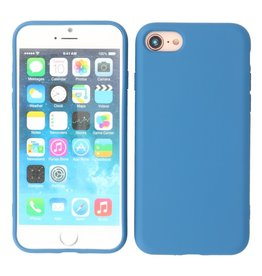 2.0mm Thick Fashion Color TPU Case iPhone SE 2020/8/7 Navy