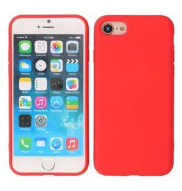 2.0mm Thick Fashion Color TPU Case iPhone SE 2020/8/7 Red