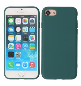 2.0mm Thick Fashion Color TPU Case iPhone SE 2020/8/7 Dark Green