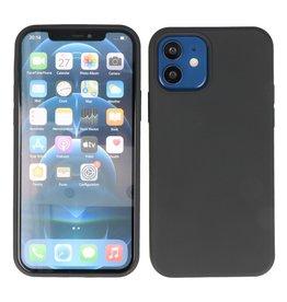 2,0 mm dicke Modefarbe TPU Hülle für iPhone 12 Mini Schwarz