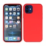 2.0mm Dikke Fashion Color TPU Hoesje iPhone 12 Mini Rood