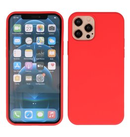 2.0mm Dikke Fashion Color TPU Hoesje iPhone 12 - 12 Pro Rood