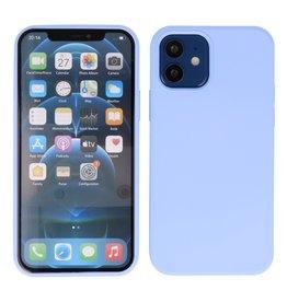 2,0 mm dicke Modefarbe TPU Hülle iPhone 12 Mini Lila