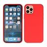2.0mm Dikke Fashion Color TPU Hoesje iPhone 12 Pro Max Rood