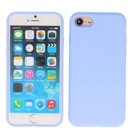 2.0mm Thick Fashion Color TPU Case iPhone SE 2020/8/7 Purple