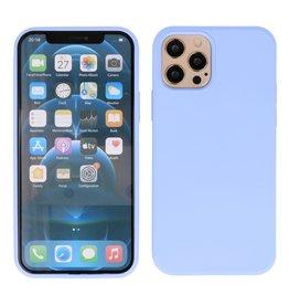2,0 mm dicke Modefarbe TPU Hülle iPhone 12 Pro Max Lila