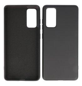 2.0mm Thick Fashion Color TPU Case Samsung Galaxy S20 FE Black