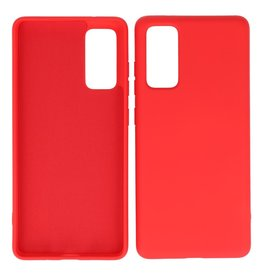 2.0mm Thick Fashion Color TPU Case Samsung Galaxy S20 FE Red