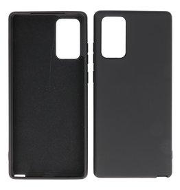 2.0mm Thick Fashion Color TPU Case Samsung Galaxy Note 20 Black