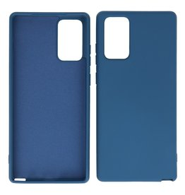 2.0mm Thick Fashion Color TPU Case Samsung Galaxy Note 20 Navy