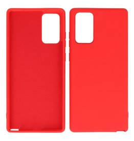 2.0mm Thick Fashion Color TPU Case Samsung Galaxy Note 20 Red