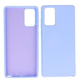 2.0mm Thick Fashion Color TPU Case Samsung Galaxy Note 20 Purple