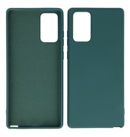 2.0mm Thick Fashion Color TPU Case Samsung Galaxy Note 20 Dark Green