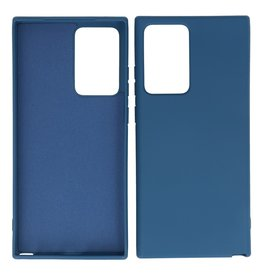 2.0mm Thick Fashion Color TPU Case Samsung Galaxy Note 20 Ultra Navy