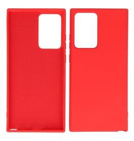2.0mm Thick Fashion Color TPU Case Samsung Galaxy Note 20 Ultra Red