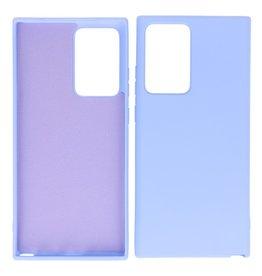 2.0mm Thick Fashion Color TPU Case Samsung Galaxy Note 20 Ultra Purple