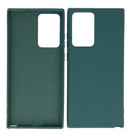 2.0mm Thick Fashion Color TPU Case Samsung Galaxy Note 20 Ultra Dark Green