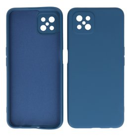 2.0mm Thick Fashion Color TPU Case Oppo Reno 4 - A92s Z Navy