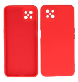 2.0mm Thick Fashion Color TPU Case Oppo Reno 4 Z - A92s Red