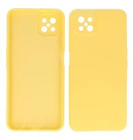 2.0mm Thick Fashion Color TPU Case Oppo Reno 4 Z - A92s Yellow