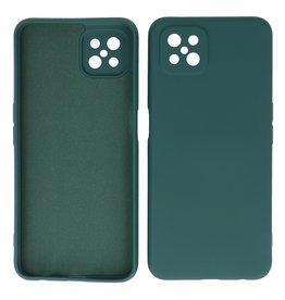 2.0mm Thick Fashion Color TPU Case Oppo Reno 4 Z - A92s Dark Green